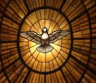 """""""O Espírito Santo faz-nos habitar em Deus e Deus em nós; mas é o amor que causa tudo isto. Portanto, o Espírito é Deus enquanto amor"""" (Santo Agostinho)."""