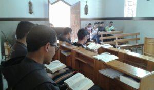 Noviciado Franciscano e a vivência comum com os Postulantes